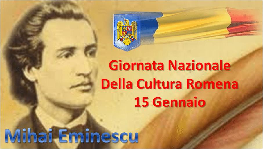 15 gennaio – La giornata della cultura nazionale romena, un omaggio a Mihai Eminescu
