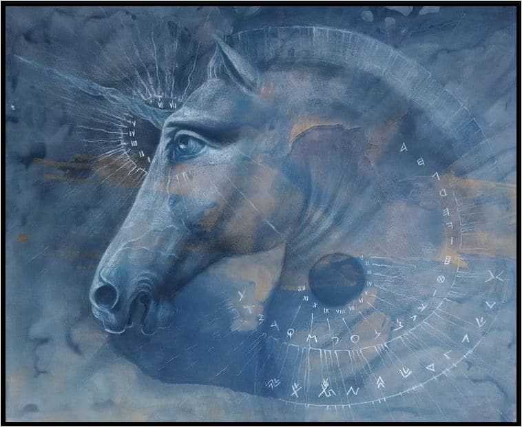 Daniela Struna – cavalli e unicorni della mitologia